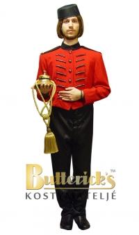 Bell boy (här som popcornförsäljare eller entrévärd)