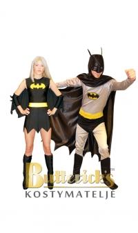 Batman Old School & Batgirl Old School
