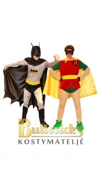 Batman Old School & Robin Old School