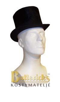 Hög svart hatt