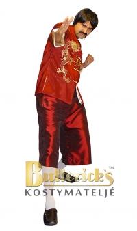 Kinesisk herrdräkt, röd