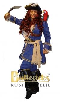 Pirat dam, blå