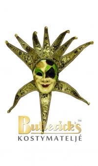 Venetiansk mask grön