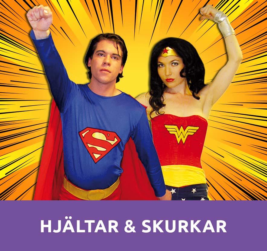 Hjältar och skurkar